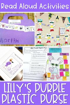 Looking for great back to school read alouds to share with your elementary students? Lilly's Purple Plastic Purse by Kevin Henkes is a great book for back to school! In this post, I share some of my favorite read aloud activities to do after reading Lilly's Purple Plastic Purse.