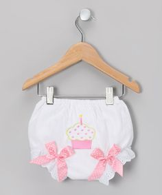 Take a look at this Pink Dot Cupcake Diaper Cover - Infant & Toddler by Tutus by Tutu AND Lulu on #zulily today!