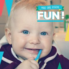 ORAL CARE CAN BE FUN for kids! It's all in how you present it—try songs, games, and rewards!