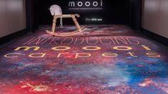 """MOOOI lanza en el Fuorisalone 2015 la nueva compañía de alfombras """"Moooi Carpets"""" con una variada colección de diseños surrealistas. #fuorisalone #moooi #MarcelWanders #mdw15 #carpets #milandesignweek2015 #contemporarydesign #designlovers #diseñocontemporáneo #fuorisalone2015 Foto: #AndrewMeredith #salonedelmobile"""