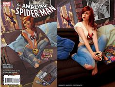 Recreating the The Amazing Spider-Man #601 Cover