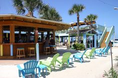 The Golden Lion in Flagler Beach---yummy fish tacos & bloody mary's