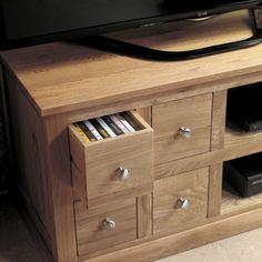 mobel oak four drawer television cabinet wood oak furniture home decor