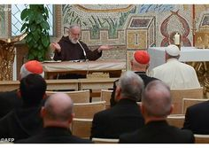 """In his third Lenten reflection in the Vatican, Capuchin Fr. Raniero Catalamessa focused on """"proclaiming the word,"""" continuing on from earlier themes examined: """"receive the word, meditate on the word and put the word into practice."""""""