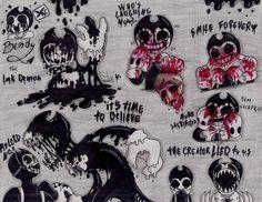 BATIM: Bendy the ink demon...inkgore by LINDURITALINDA