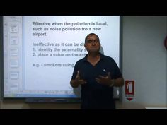 AS-Level Economics Video 20 - Correcting Externalites - evaluating government solutions