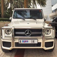 Pearl white Mercedes G-Wag Mercedes G Wagon, Mercedes Benz G Class, Mercedes Amg, White G Wagon, Car Goals, Motorcycle Design, Car Car, Hot Cars, Exotic Cars
