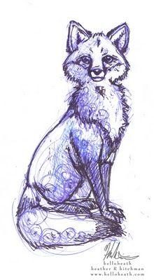 helloheath blog: Animal sketches