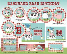 Hey, I found this really awesome Etsy listing at https://www.etsy.com/listing/273112022/instant-download-farm-birthday-party