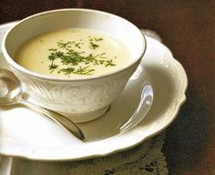 This Cream of Horseradish Soup recipe has Austro-Hungarian overtones and is enriched with heavy whipping cream and egg yolks.