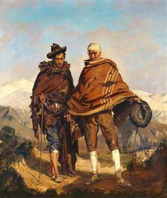 Frank Buchser - The blind beggar