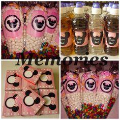 Minnie Mouse productos para mesa de dulces !
