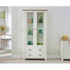 Sandringham Oak & Cream Display Unit