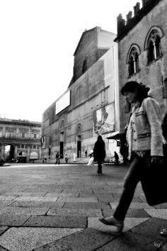 Piazza Maggiore, Bologna, ottobre 2012 - Barbara Gozzi©