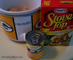 Crockpot Chicken and Stuffing11