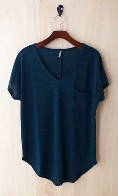 Oh So Cozy Tee, Deep Turquoise - Conversation Pieces Tomboy Fashion, Fashion Moda, Fashion Outfits, Womens Fashion, Tomboy Style, Fall Outfits, Summer Outfits, Casual Outfits, Cute Outfits