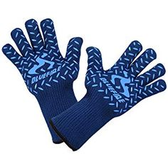 BlueFire Pro Heat Resistant Gloves - Oven - BBQ Grilling - Big Green Egg - Fireplace Accessories and Welding. Barbecue, Bbq Grill, Grilling, Best Gloves, Heat Resistant Gloves, Fireplace Accessories, Green Eggs, Hot Pads, Mittens
