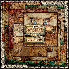 #MischiefCircus2016 In My Room - Number One Papers by Debbie Kerkhof