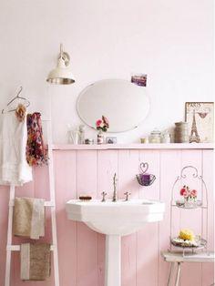 bathing in pink