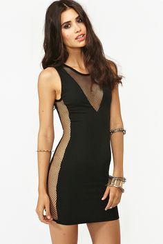 Black Double Take Dress