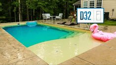 Learn more about the D Series of fiberglass pools. Adults can lounge and relax on the spacious tanning ledge while kids can splash and play. Swimming Pools Backyard, Pool Landscaping, Pool Ideas, Backyard Ideas, Pool Landscape Design, Pool Shapes, Pool Coping, Rectangular Pool, Fiberglass Pools