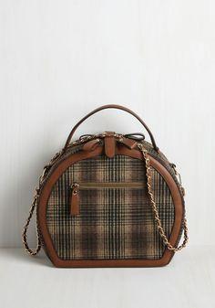 Travel Back in Timely Bag, #ModCloth
