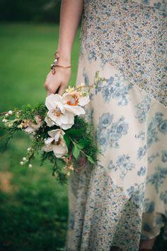 Foraged bridal bouqu