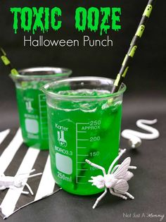 Toxic Ooze, perfectly icky for Halloween or a Mad Scientist party!