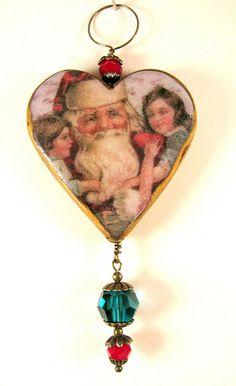 Old World Santas - Santa with Children Ornament