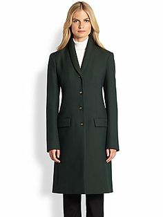 The Row Norson Wool Coat