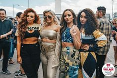 OMFG BEBE AND 3/4 LITTLE MIX IM FANGIRLING