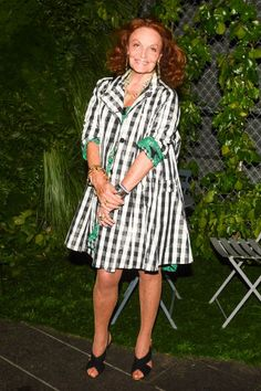 A-Listers attend the annual Friends of the Highline party presented by Coach; Diane Von Furstenberg.
