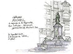 Nouveau carnet, première page / Gérard Michel