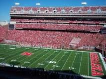 Memorial Stadium in Lincoln- features the Nebraska Corn Huskers Football Team