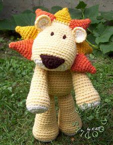 leon crochet amigurumi