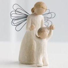 Koruyucu Melek | Guardian Angel - Sanatçı Susan Lordi tarafından tasarlanan bu figüratif heykeller, vücut hareketleri yoluyla duygularınızı en güzel şekilde ifade edecekler... Ölçüler: 13 cm