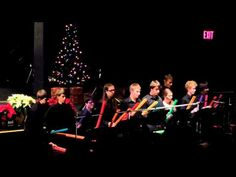 ▶ Holiday Boom Whacker Ensemble - YouTube >>> MEDLEY.  Nice idea for bigger kids.