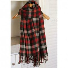 All Matched Colored Plaid Long Scarf For Women, COLOR ASSORTED in Scarves   DressLily.com