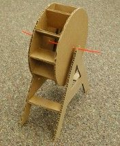 Make a water wheel - perhaps it would work with marbles in a marble run too
