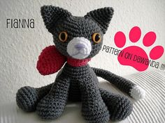 Amigurumi Pattern Little Cat Fianna PDF