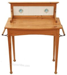 Victorian 19C Pine Washstand Side Dressing Table - Antiques Atlas