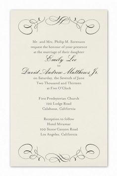 Royal Wedding Invitation formal invitation wording pink and gold