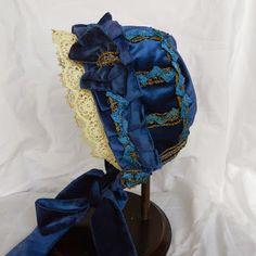 Late 1860's/1870's Child's Bonnet