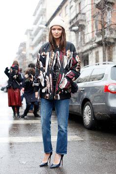 Streetstyle Mailand Fashion Week A/W 2013 Teil1 - FLAIR fashion & home