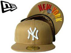 【ニューエラ】【NEW ERA】59FIFTY NEW YORK NY アンダーバイザー WHEAT ウィート ライトブラウン グラデーション 【NY】【UDNER VISOR】【HIP HOP】【B系】【ヒップホップ】【ラップ】【茶色】【ホワイト】【キャップ】【帽子】【楽天市場】