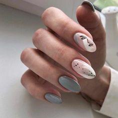 Stylish Nails, Trendy Nails, Dusty Pink Nails, Beige Nails, Subtle Nail Art, Colorful Nail Art, Nagellack Trends, Oval Nails, Minimalist Nails