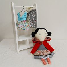 Karkulka / Doll Little Red Riding Hood... by Břichopas toys