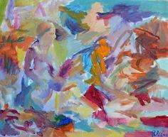 guillaume pelican (©2013 artmajeur.com/neofauve) peinture a l'huile sur toile de lin