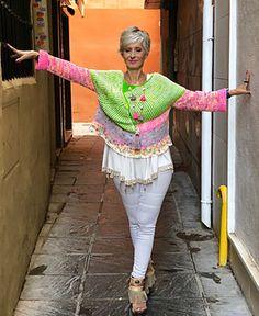 Ravelry: Jersey Brioche pattern by Lola & Punto Hippy, Ravelry, Pullover, Knitting, Pattern, Sweaters, Dresses, Style, Fashion