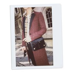 Han Huo Huo with the Mulberry Clifton Bag